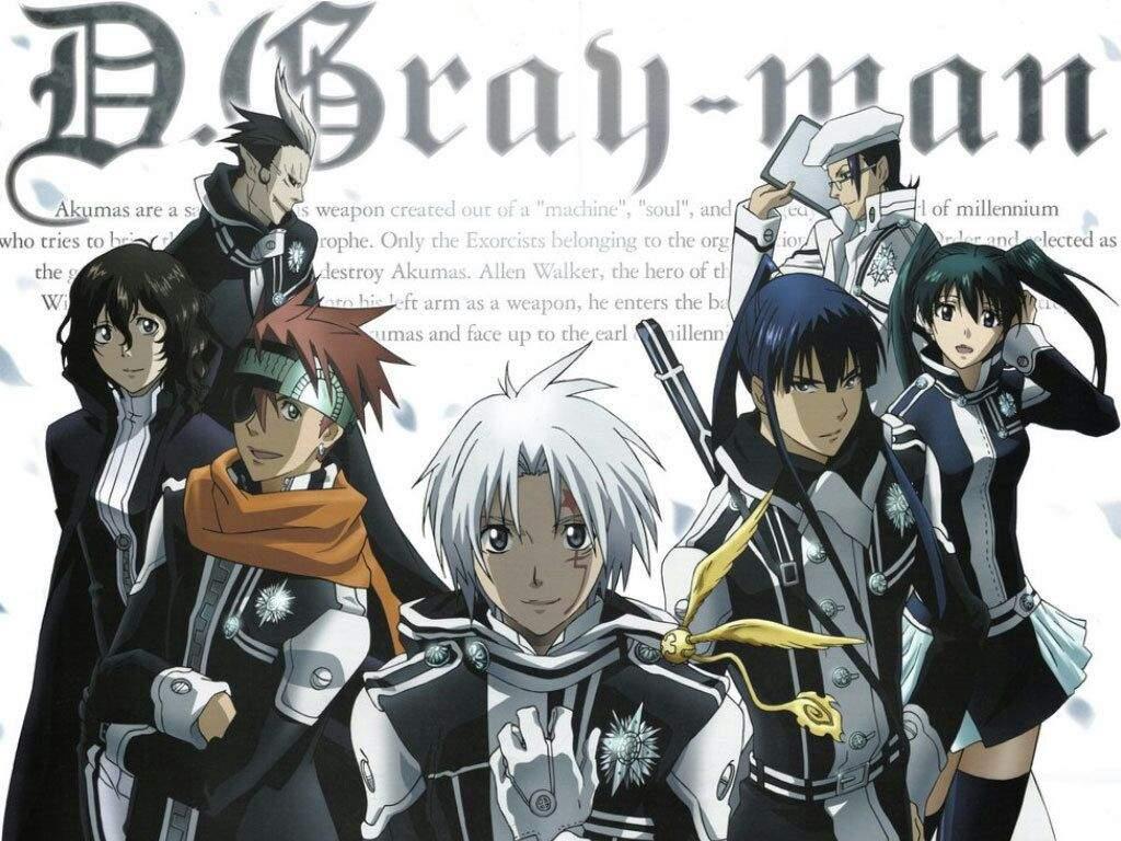 D Gray Man Hallow Anime Amino