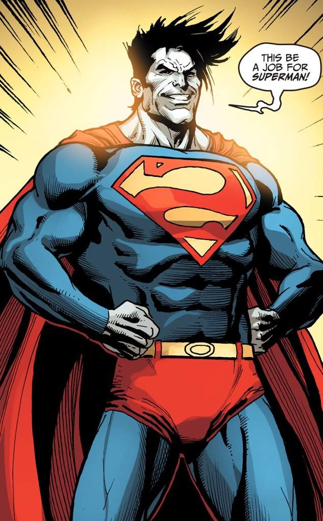 Very pity superman thumbs up