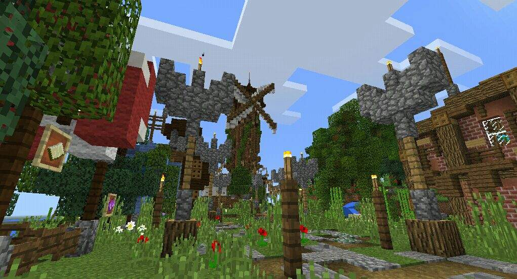 Minecraft Medieval Town Xbox Download
