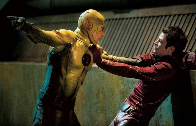 Eddie Killed Himself Because Since He Was Eobards Ancestor Would Not Exist So The Fake Harrsion Wells Or Reverse Flash Died All Of Eddies Doing