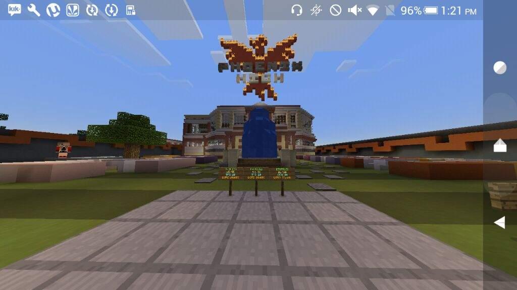 BEST MCPE HIGH SCHOOL RP SERVER!!!   Minecraft Amino