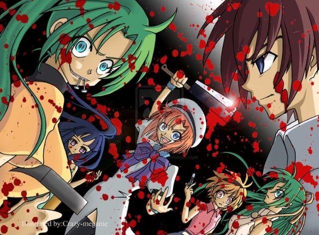 When They Cry Higurashi No Naku Koro Ni Anime Amino