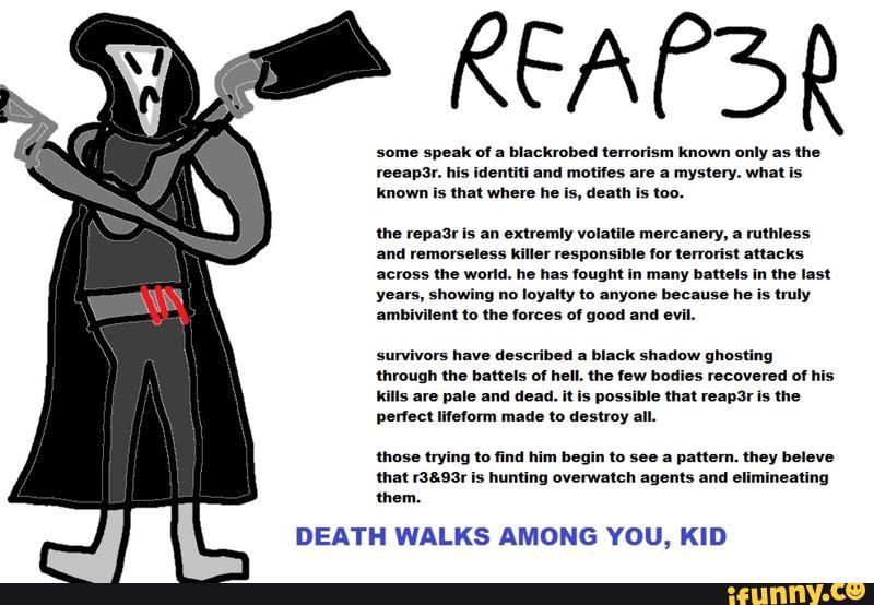 3cb00f33daddd5562430b73e3d3cee126f381a39_hq reaper memes overwatch amino