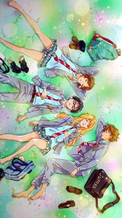 Shigatsu Wa Kimi No Uso Anime Amino