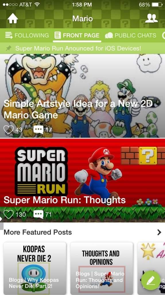 Simple Artstyle Idea for a New 2D Mario Game   Mario Amino