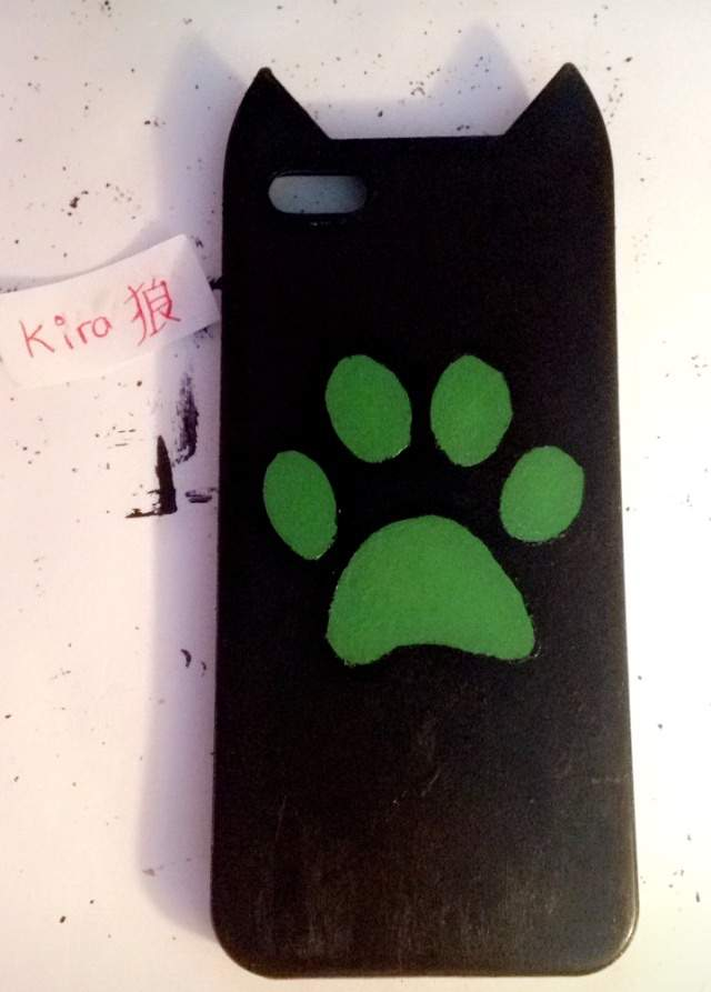best cheap 6c2c6 137ca DIY Chat Noir Phone Case!💚🐾   Miraculous Amino