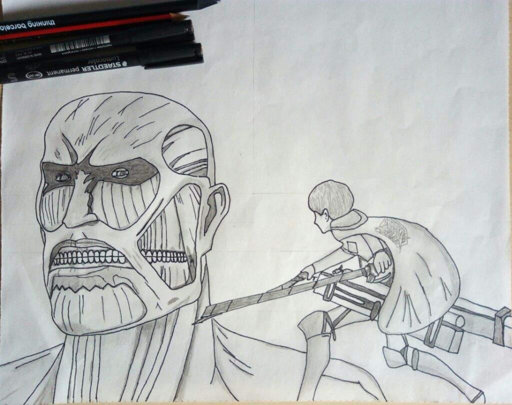 Attack On Titan Dibujo Anime Amino
