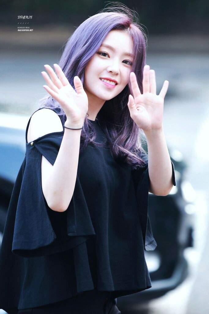Image result for irene red velvet purple hair