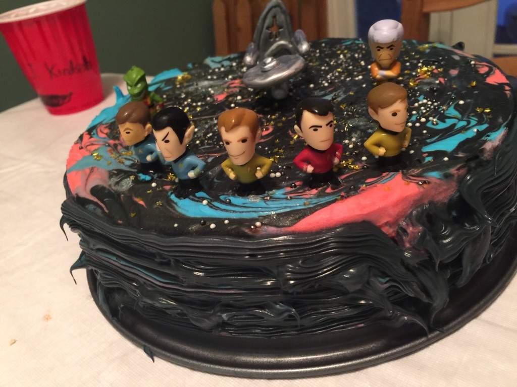 Star trek cake Star Trek Amino