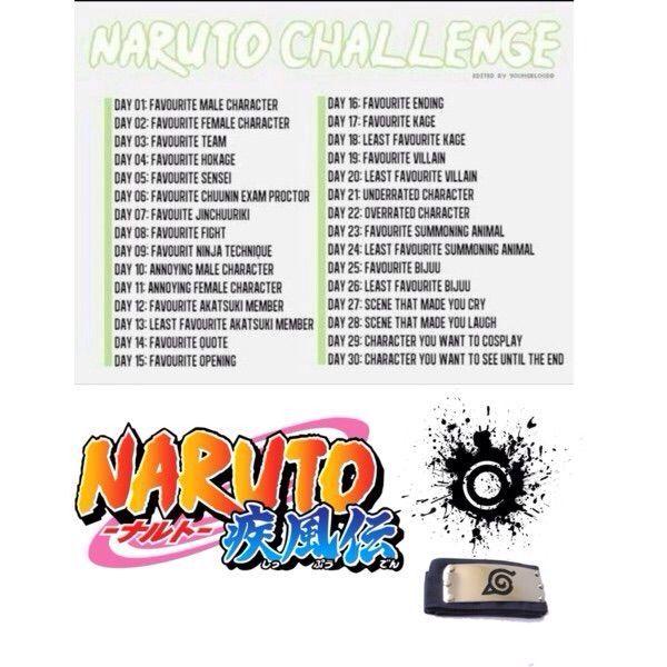 Naruto 30 Day Challenge! Day 003! | Naruto Amino