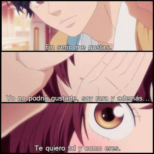 Ao Haru Ride Frases Anime Amino