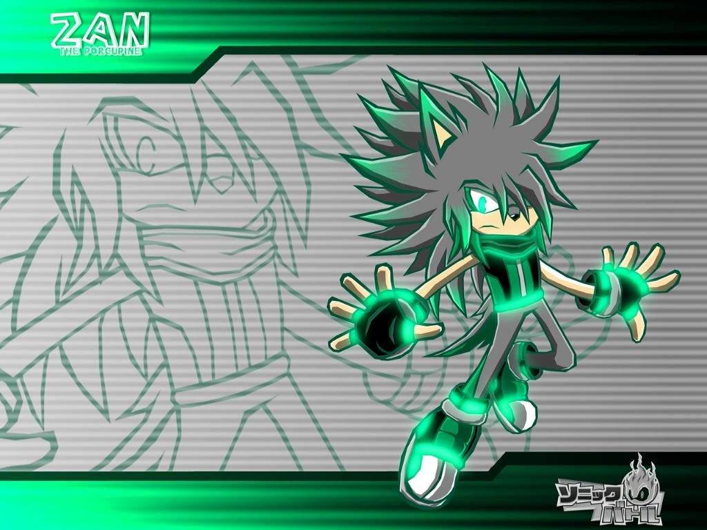 Zan The Porcupine Sonic Battle Wallpaper Sonic The Hedgehog Amino