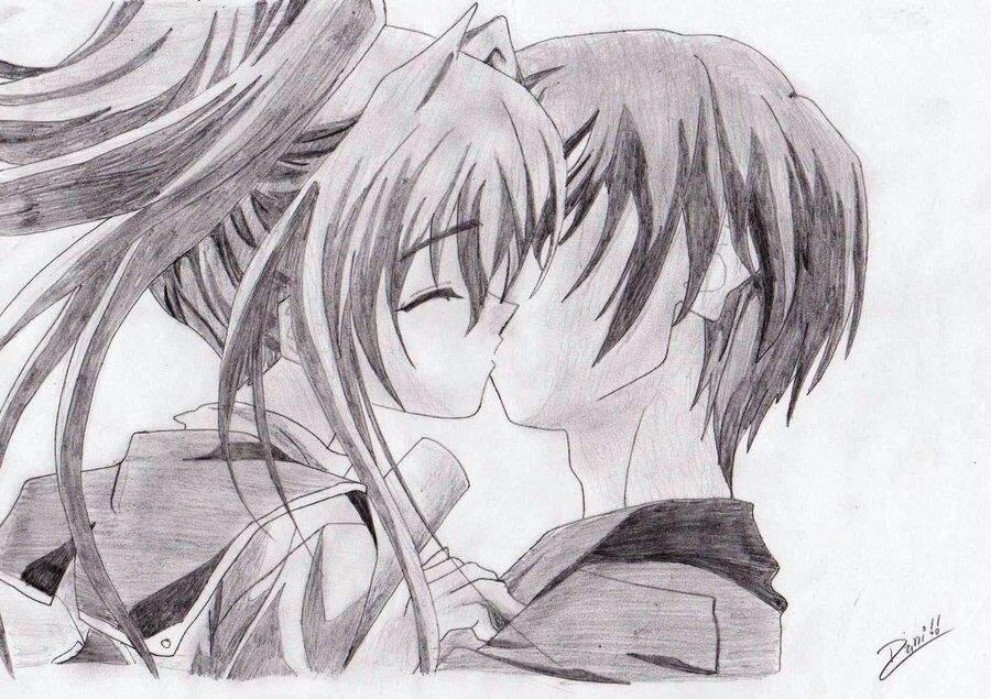 Imagenes De Parejas Anime Para Dibujar Faciles Imagesacolorierwebsite