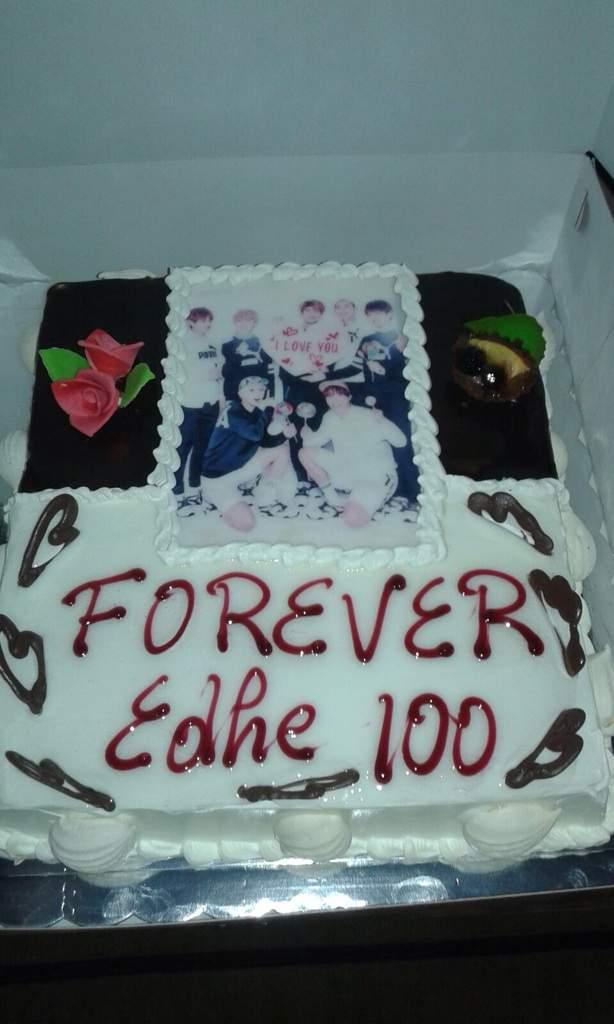 Bts Bday Cake K Pop Amino