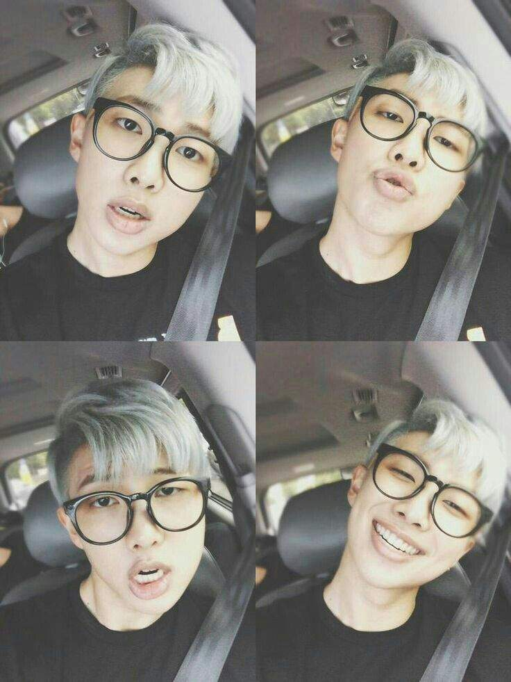 9e6040090302 Rap Monster with glasses