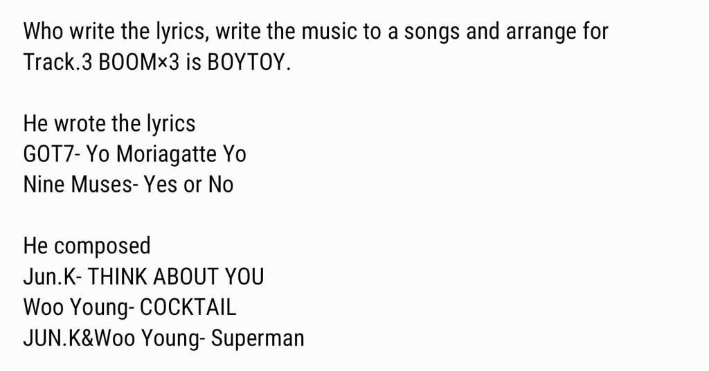 Lyric heartbeat you make me feel so weak lyrics : GOT7 TRACK LIST   K-Pop Amino