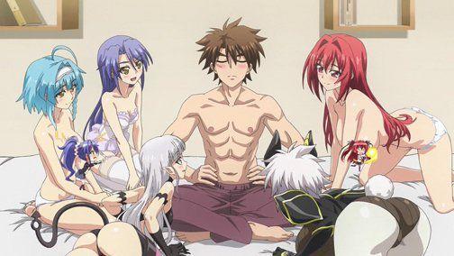 My Top 20 Ecchi Harem Anime