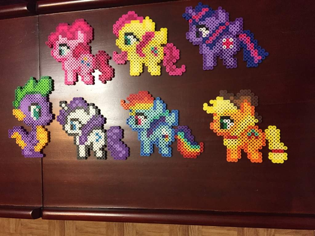 My Little Pony Perler Beads Crafty Amino