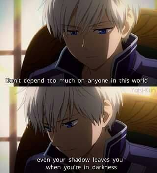 10 sad anime quotes that will touch you deep inside otakuamino amino