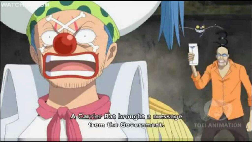 One Piece Buggy After Time Skip