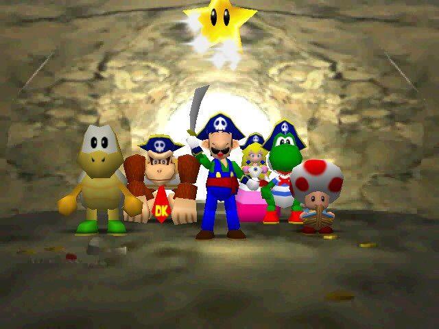 Mario Party 2 N64 Emulator