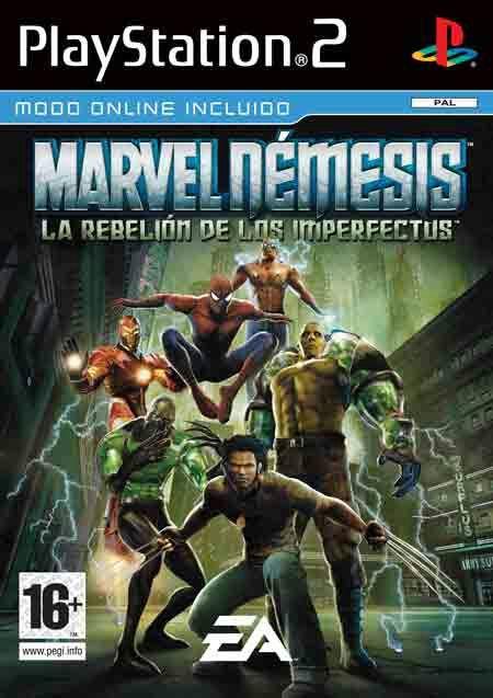 Los 5 Mejores Juegos De Marvel Ps2 Comics Amino