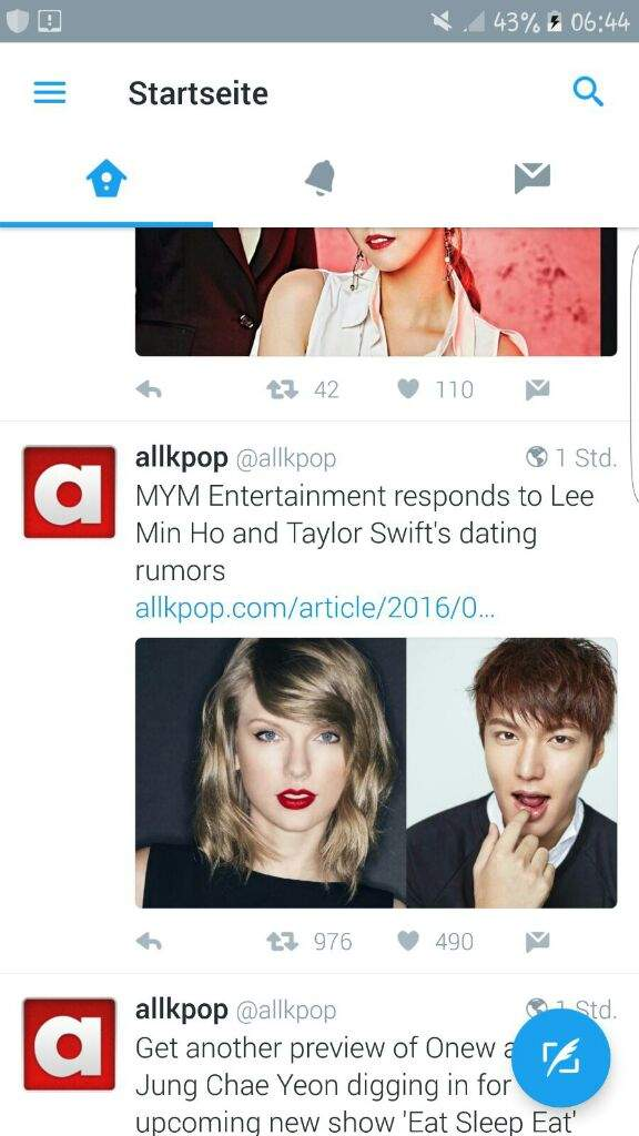onew dating rumors