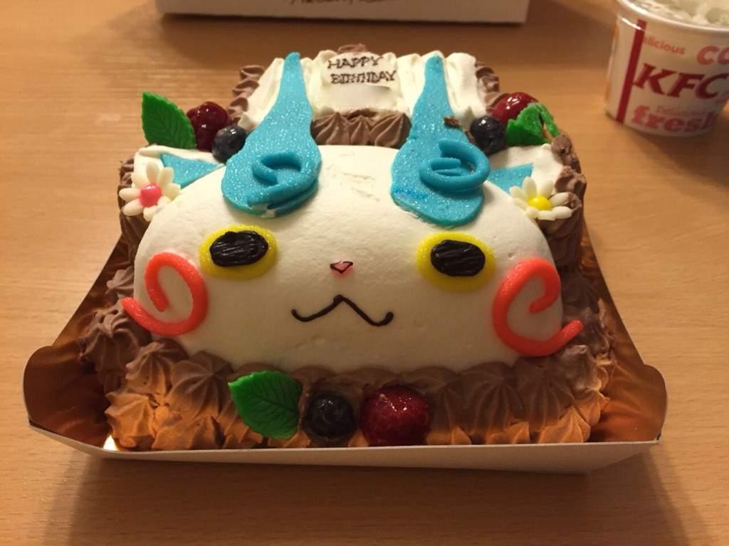 Yokai Watch Cake Yo Kai Watch Amino