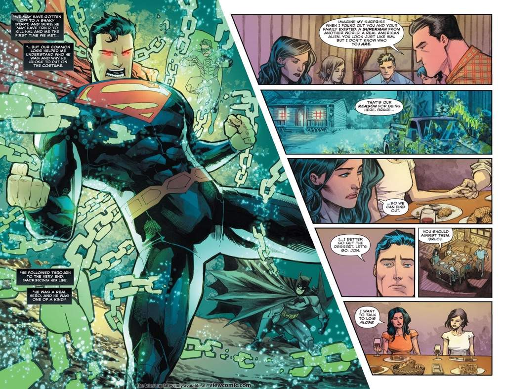 superman and wonder woman son