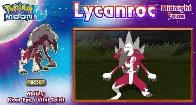 Lycanroc( Midnight form) | Pokémon Amino