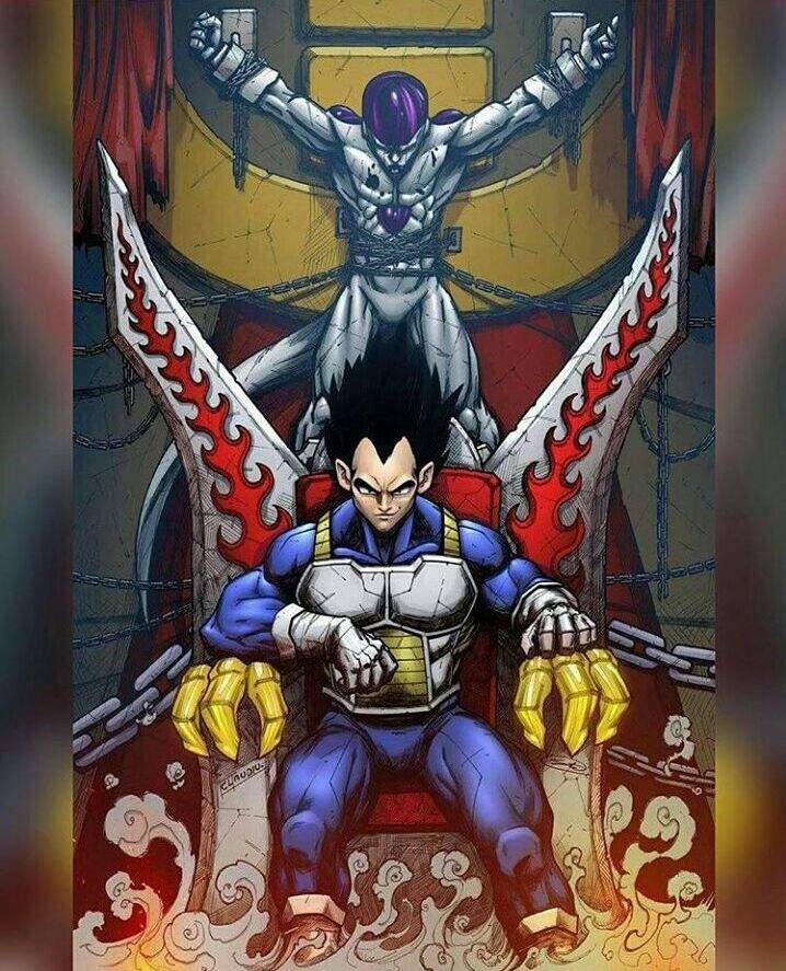 So sánh Vegeta và Goku