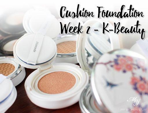 Korean Cushion Foundation Comparison Cushion Foundation Week 2