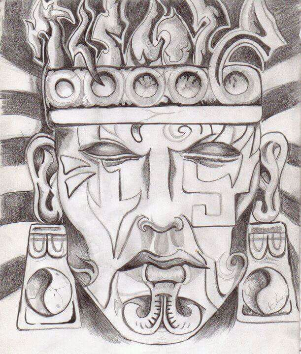 Guerrero Azteca Arte Amino Amino