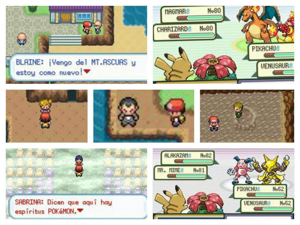 Novedades en hackroms pok mon classic pok mon en for Gimnasio 8 pokemon rojo fuego