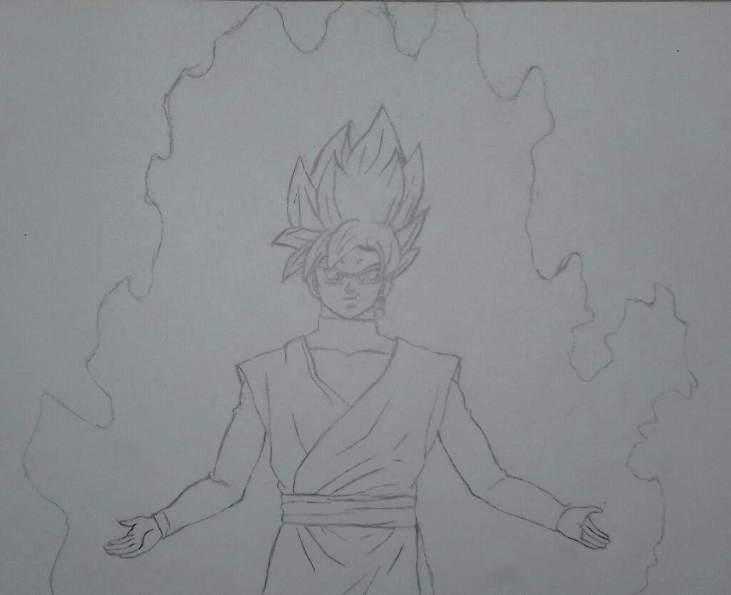 Aqui Esta Goku Black Ssj Rose Arte Amino Amino