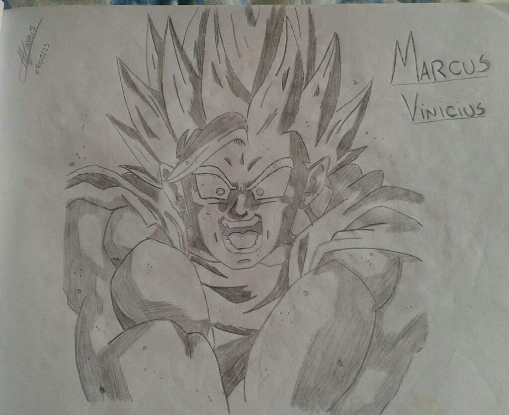 Desenho De Dragon Ball Z Otanix Amino