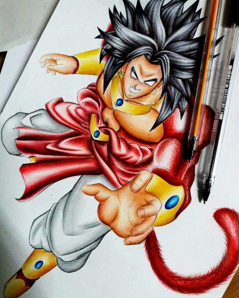 Dibujo de DBZ...   •Arte Amino• Amino