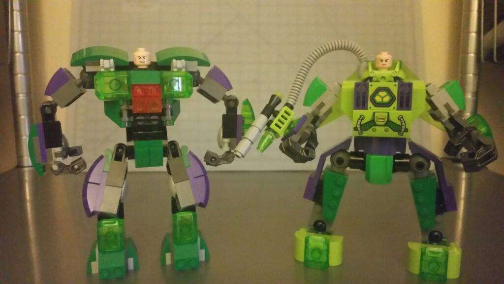 Earth 2 Lex Luthor Lego Amino
