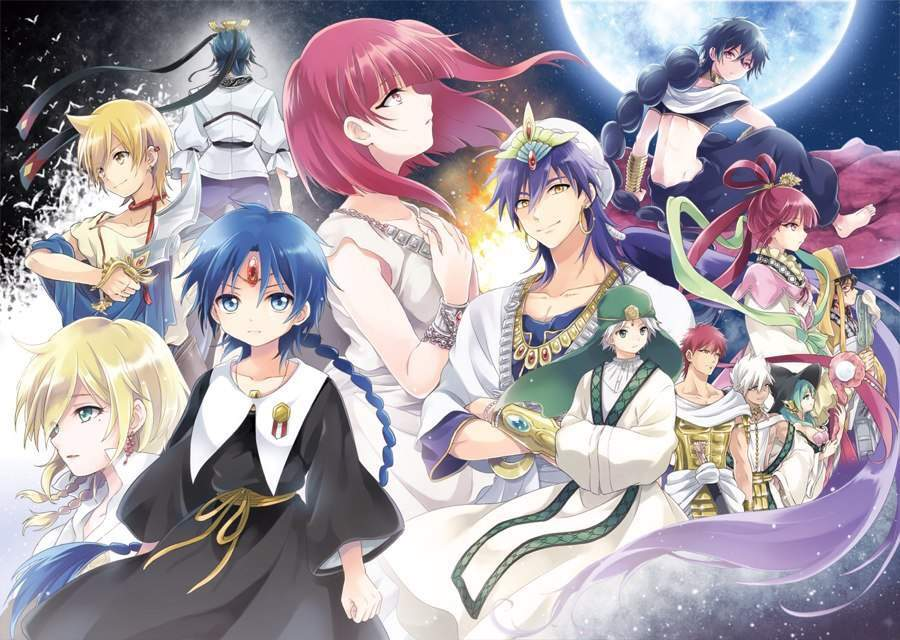 Magi Is An Anime Inspired By Compiled Arabic Version Of The Arabian Nights During Islamic Golden Age Not Only Are Stories Fascinating But Also