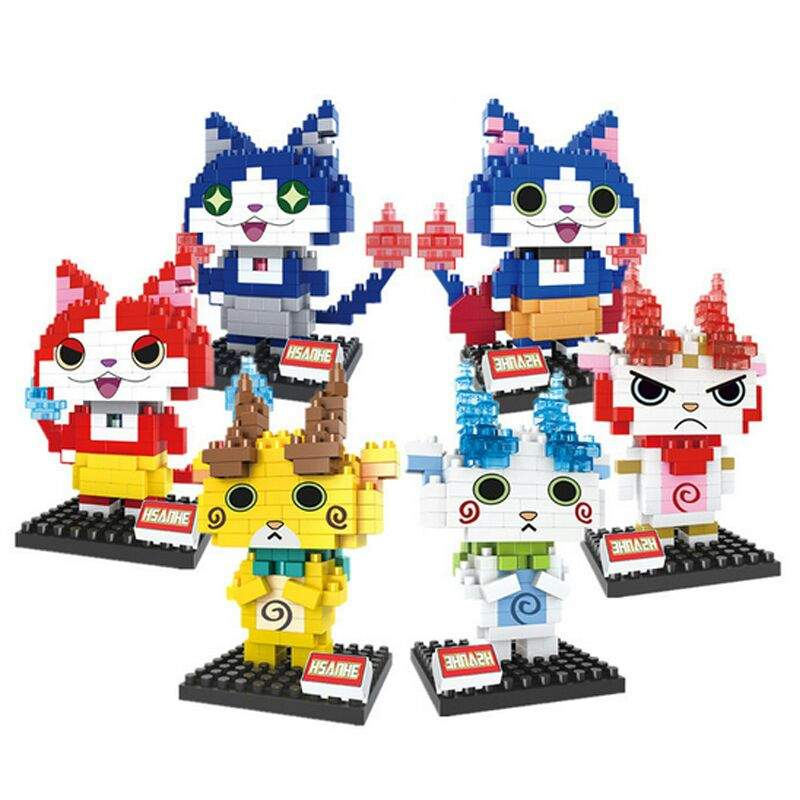 Lego Like Yo Kai Toys Yo Kai Watch Amino