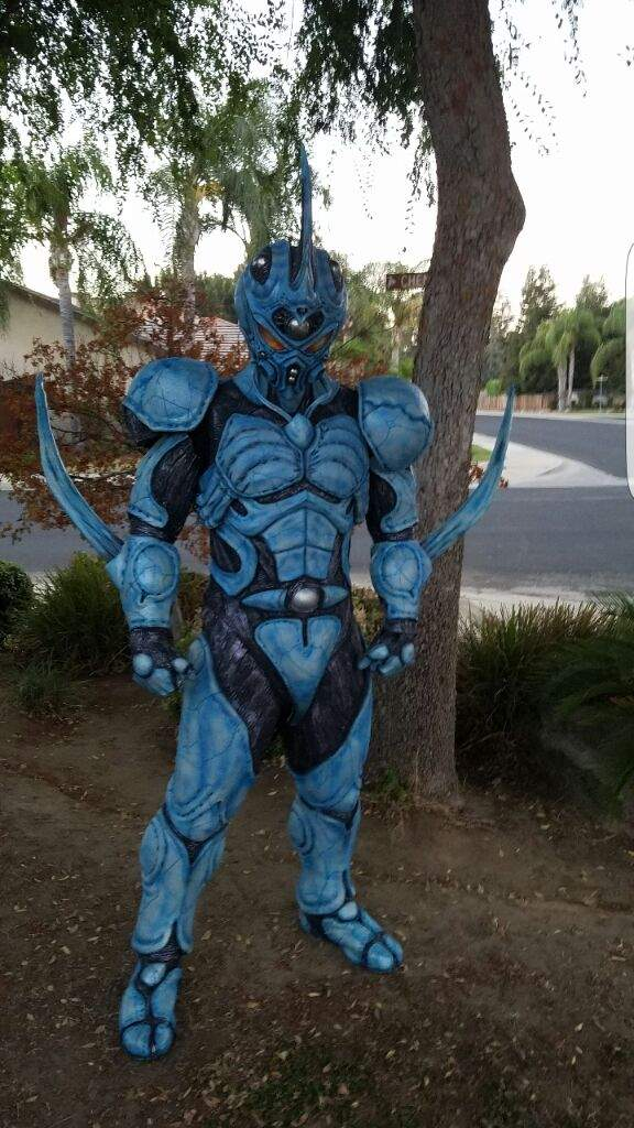 how to make a guyver suit