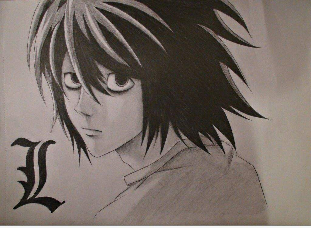 Me Draw L Death Note New 2016 Japanese Anime Amino
