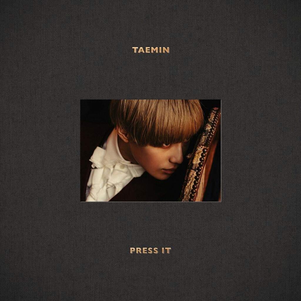 Imagini pentru taemin press it album cover