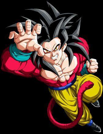 Goku normal e goku em ssj4  DragonBallZ Amino