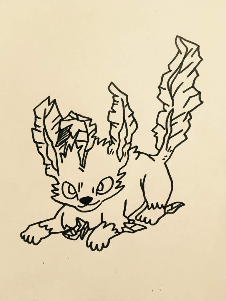 Leafeon Drawing | Pokémon Amino