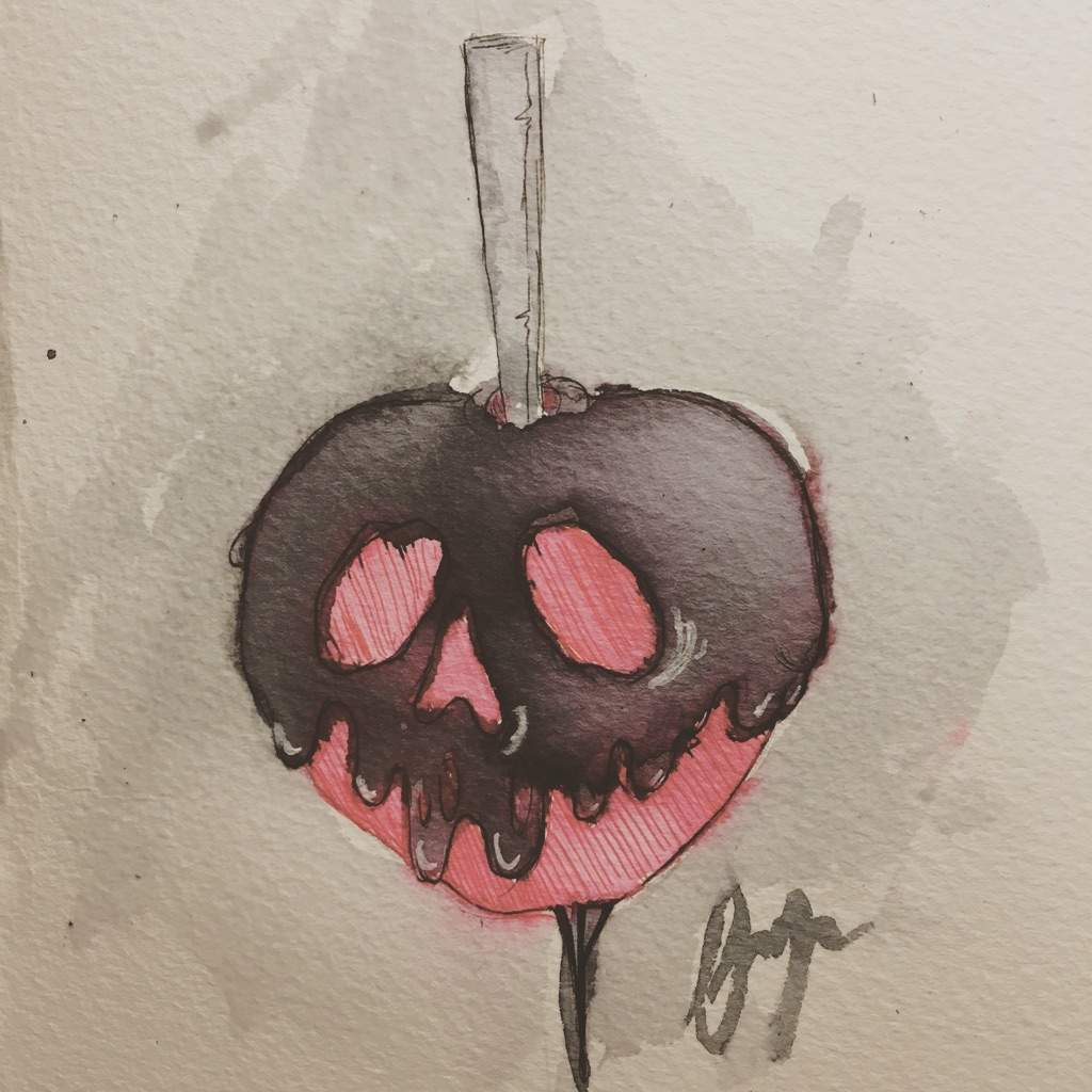 Day Seven Caramel Apples And Feeling The Weight Of Procrastination Drawing Amino