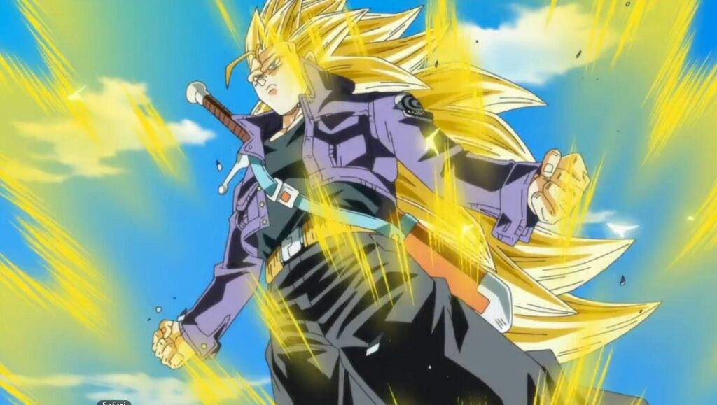 trunks new form analysis dragonballz amino