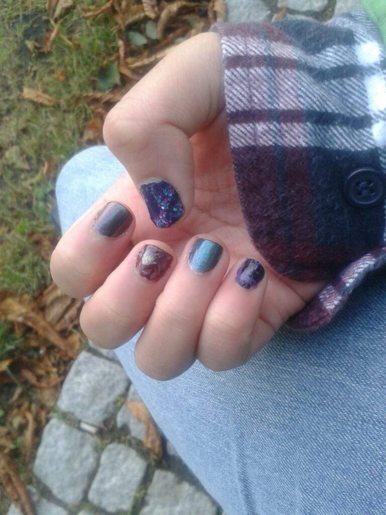My nails are feeling fancy :D   LGBT+ Amino