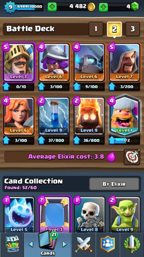 Lumberjack Deck Clash Royale Amino