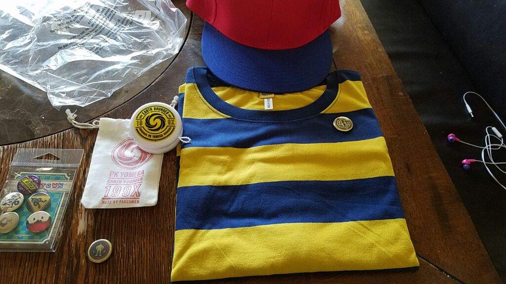 i got my ness halloween costume today earthbound amino